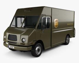 Freightliner P70D UPS Van 2006 3D model