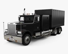 Freightliner FLC120 Box Truck 1989 3D model