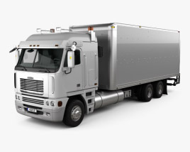 Freightliner Argosy Box Truck 2003 3D model