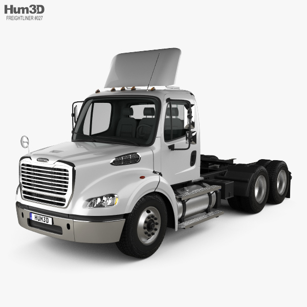 Freightliner M2 112 Day Cab Tractor Truck 3-axle 2011 3D model