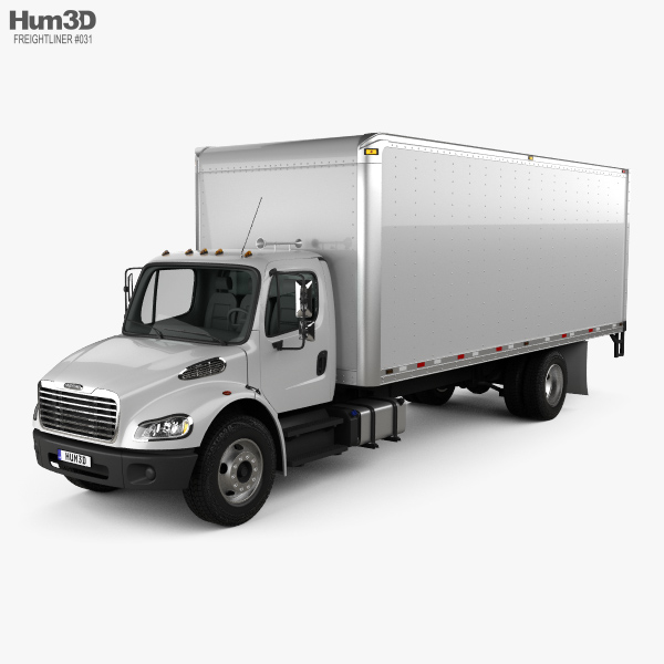 Freightliner M2 106 Box Truck 2012 3D model