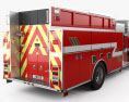 Freightliner M2 106 Crew Cab Fire Truck 2017 3d model