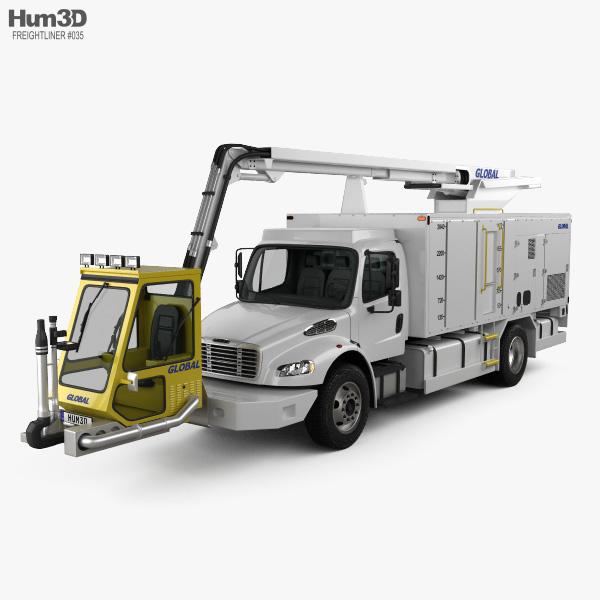 Freightliner M2 106 Global Ultimate 2200 Service Truck 2018 3D model