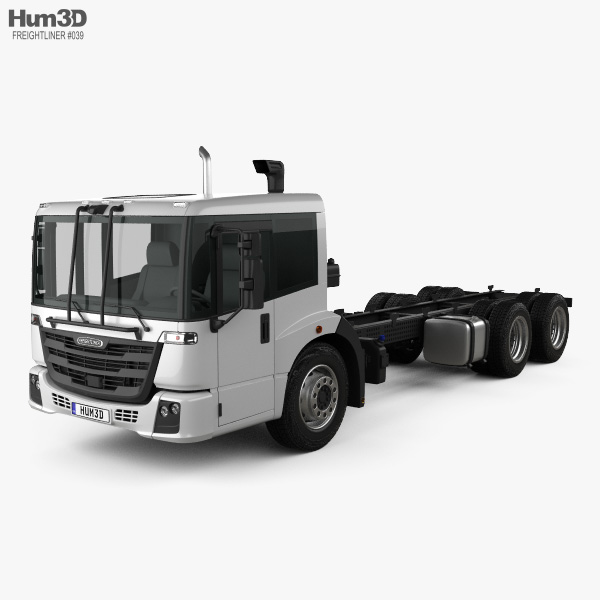 Freightliner Econic SD Chassis Truck 2018 3D model