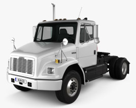 3D model of Freightliner FL70 Tractor Truck 2003