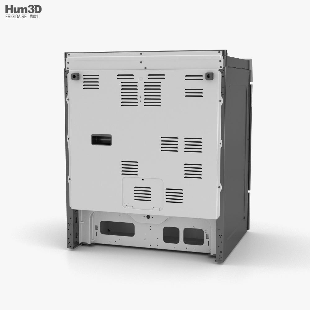 Frigidaire Induction Range Oven 3d model