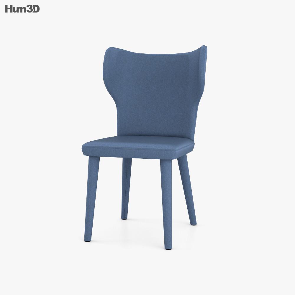 Alberta Monika Chair 3D model