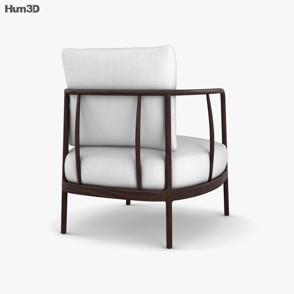 Arhaus Griggs Chair 3d model