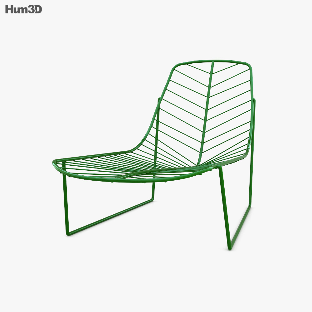 Arper Leaf Lounge Chair 3D model