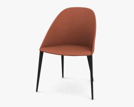 Arper Cila 4 Wood Legs Chair 3D model