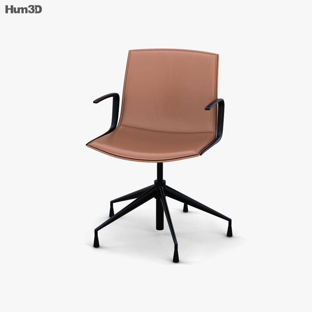 Arper Catifa Up Armchair 3D model