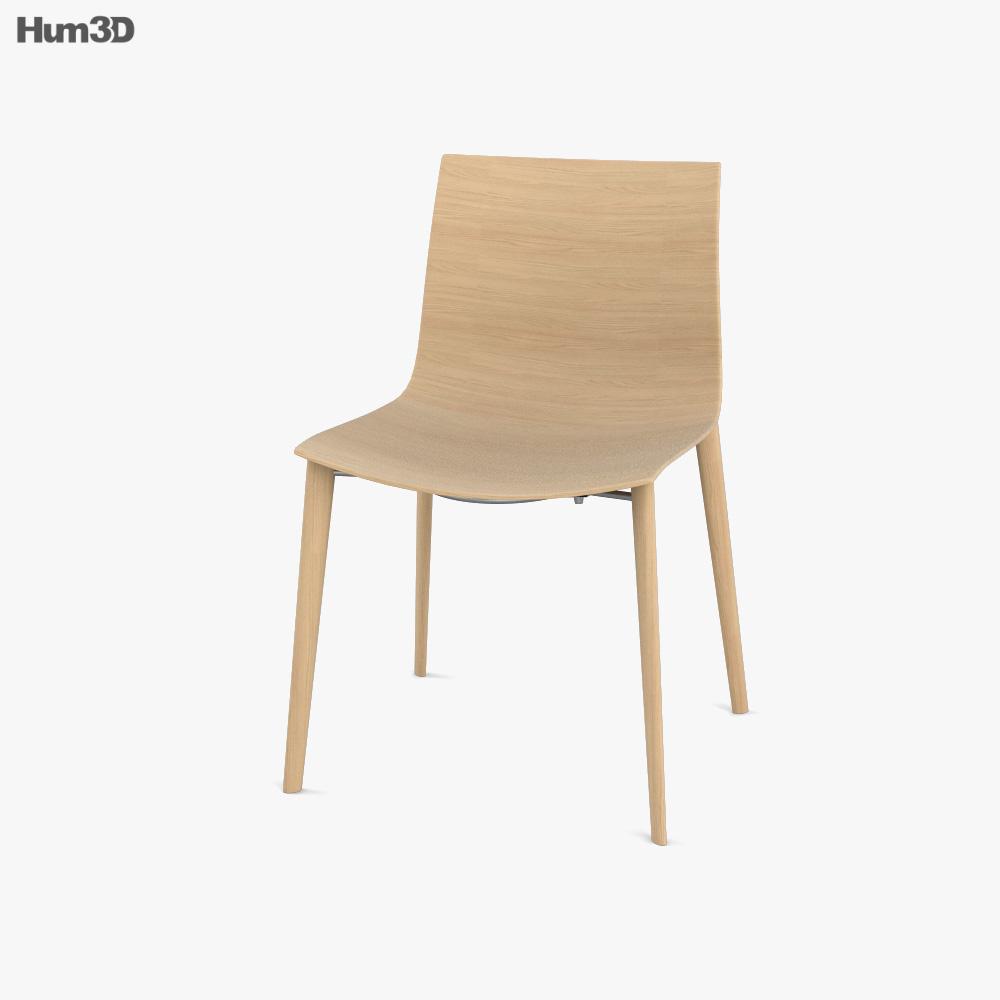 Arper Catifa 46 Chair 3D model