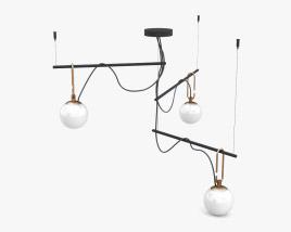 Artemide NH S3 Pendant lamp 3D model