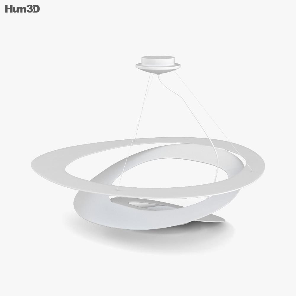 Artemide Pirce Lamp 3D model