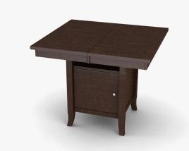 Ashley Lynx Extension Pub Table 3D model