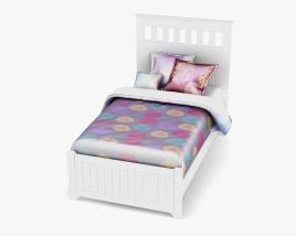 Ashley Lulu Twin Panel bed 3D model