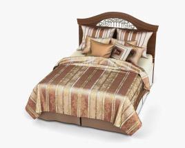 Ashley Fairbrooks Estate Panel bed 3D model