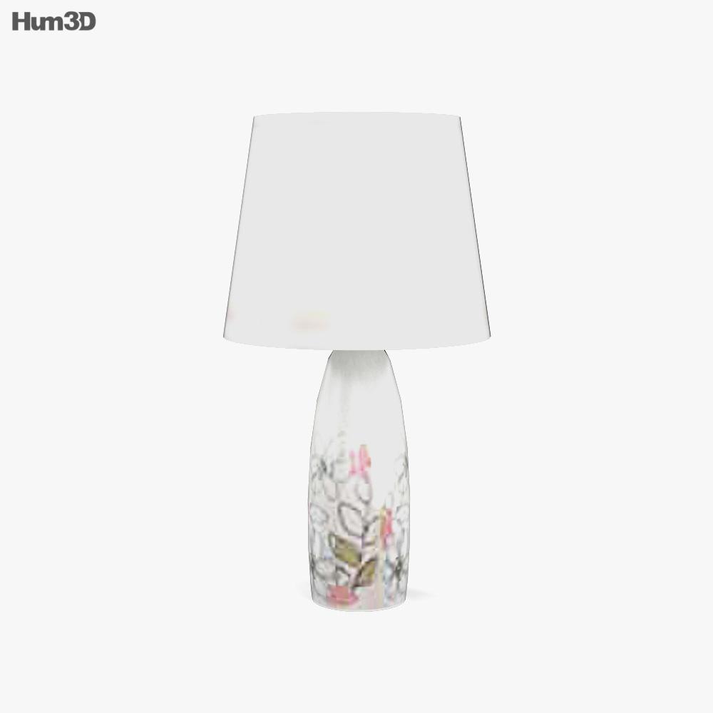 Ashley Doll House Sleigh table lamp 3d model