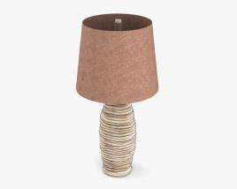 Ashley Logan - table lamp 3D model