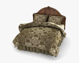 Ashley Buckingham Queen Panel bed 3D model
