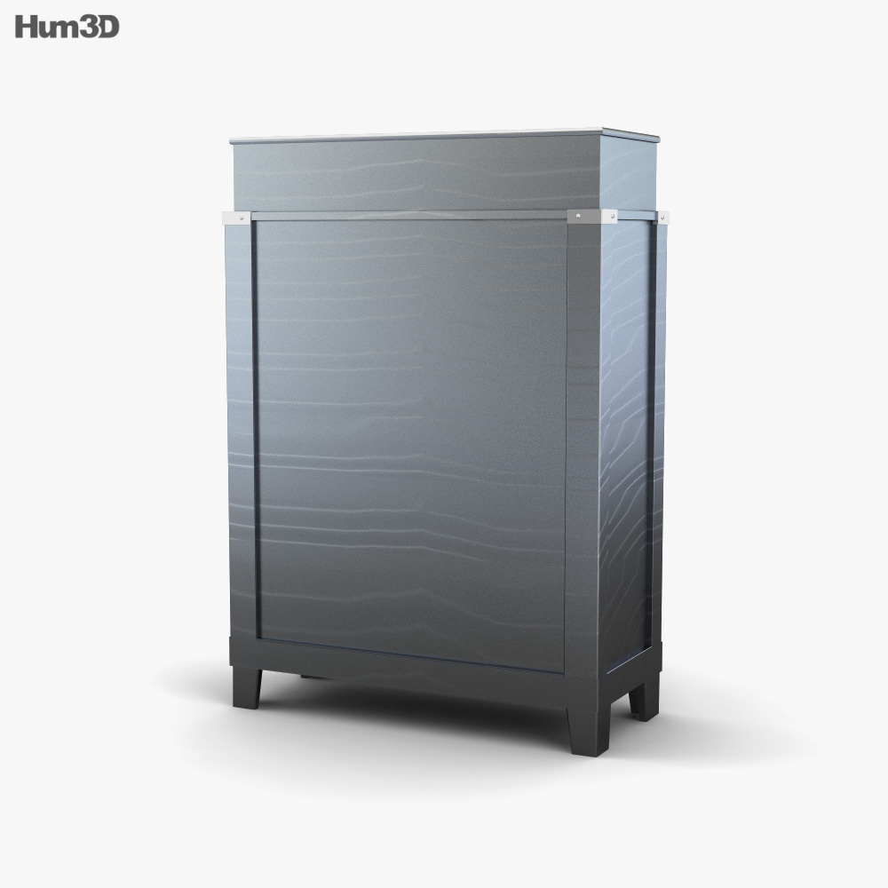 Ashley Diana Chest of Drawers 3d model