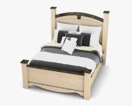 Ashley Olivia Bay Queen Poster bed 3D model