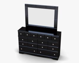 Ashley Shay Dresser & mirror 3D model