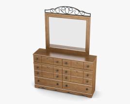 Ashley Rosalie Dresser & mirror 3D model