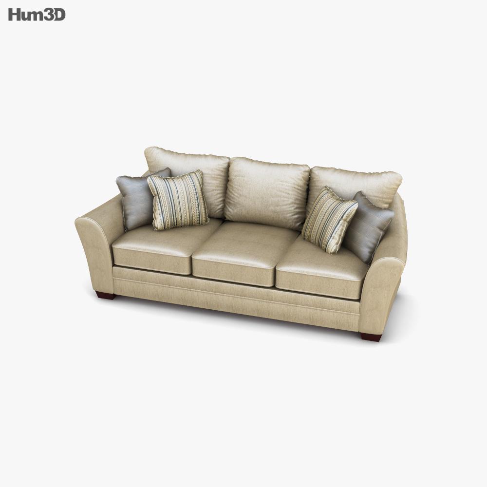 Ashley Lena - Putty Sofa 3d model