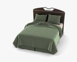 Ashley Julianna Queen Full Panel bed 3D model