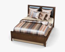 Ashley Nico Queen Panel bed 3D model