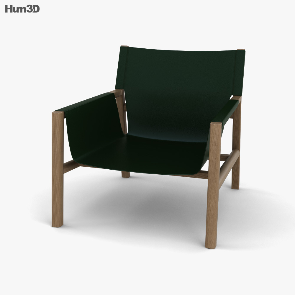 B and B Pablo Armchair 3D model