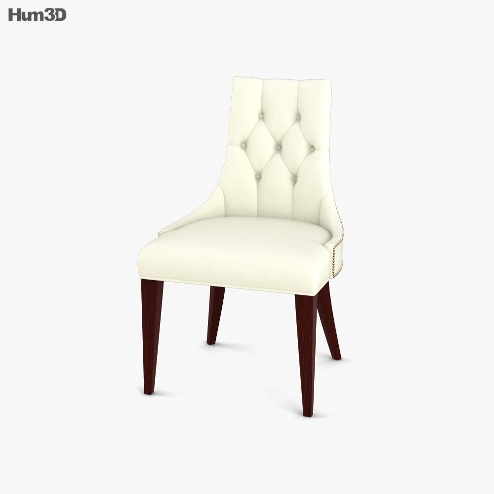 Baker Ritz Dining chair 3D model