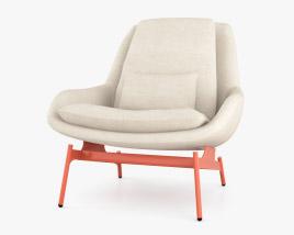 Bludot Field Lounge Chair 3D model
