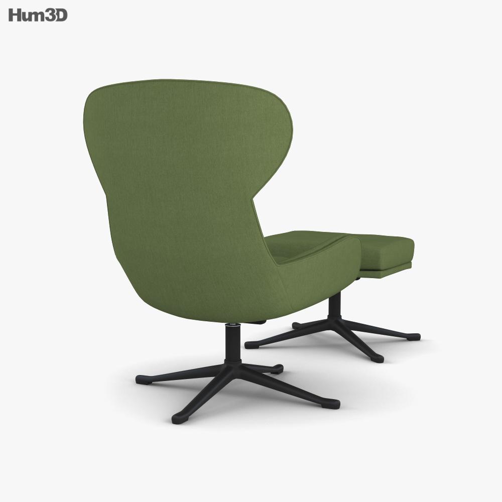 BoConcept Reno Armchair 3d model