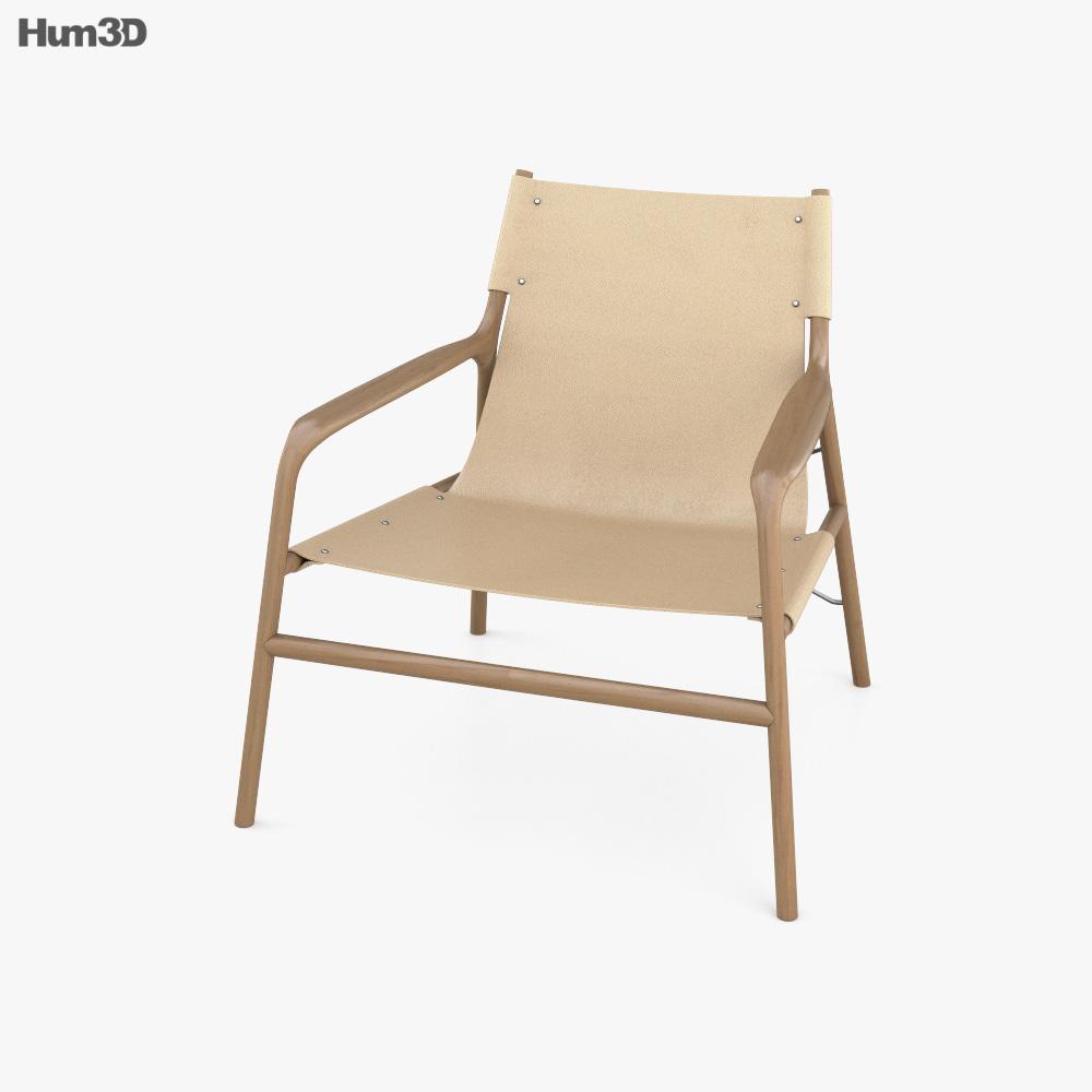 Bolia Soul Lounge Chair 3D model