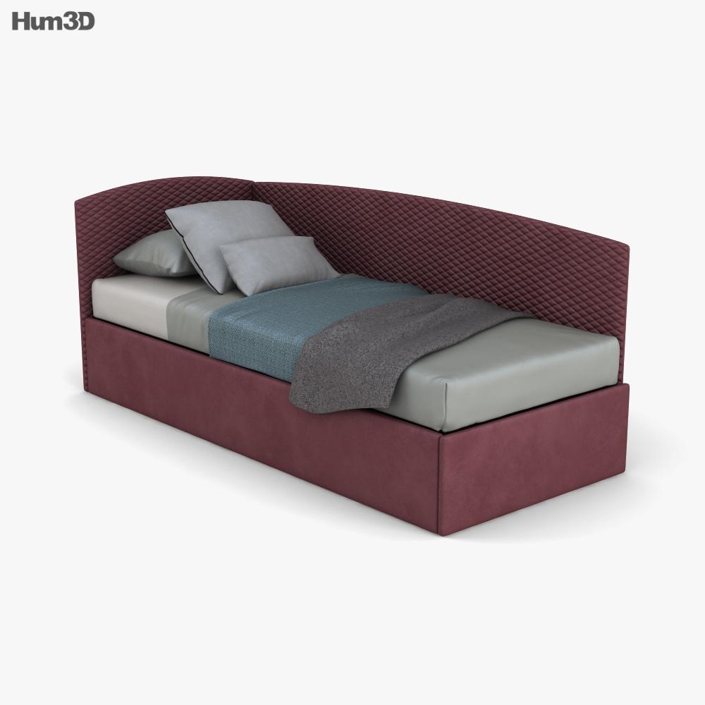 Bonaldo Titti ベッド 3Dモデル