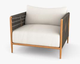 Brown Jordan Maldives Lounge Chair 3D model