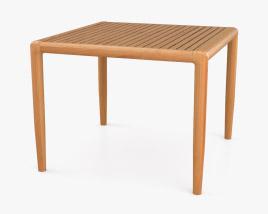 Brown Jordan Maldives Square Side Table 3D model
