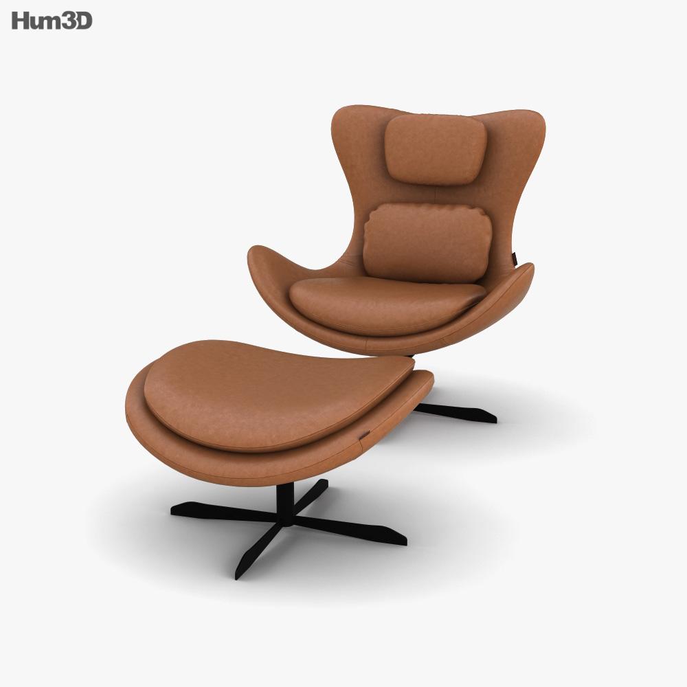 Calligaris Lazy Armchair 3D model