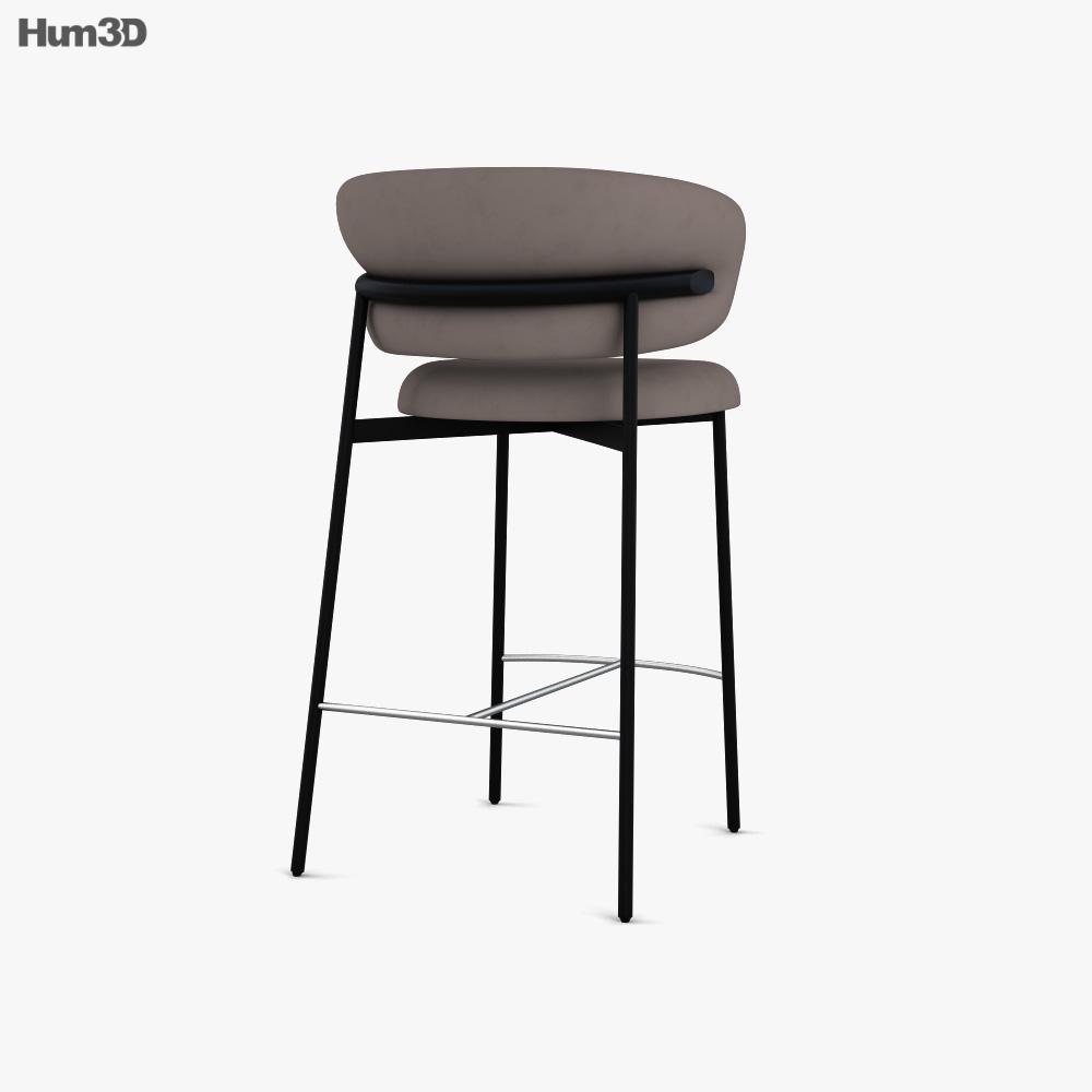 Calligaris Oleandro Bar stool 3d model
