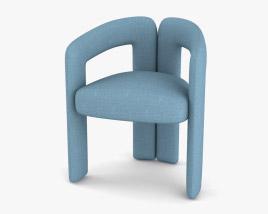 Cassina Dudet Chair 3D model