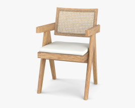 Cassina Capitol Office Chair 3D model