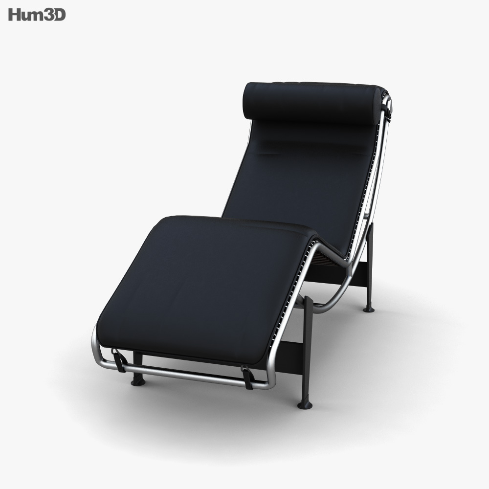 Cassina LC4 Chaise Longue 3d model