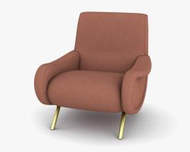 Cassina Lady Armchair 3D model