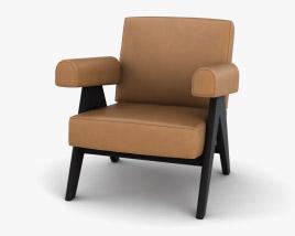 Cassina Capitol Complex Armchair 3D model
