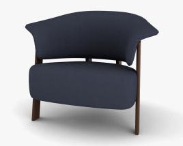 Cassina Back Wing Armchair 3D model