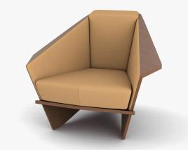 Cassina Taliesin Armchair 3D model