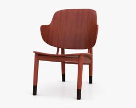 Christensen and Larsen Kofod Larsen Chair 3D model