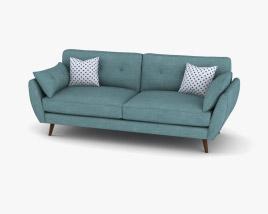 DFS Zinc Express Sofa 3D model